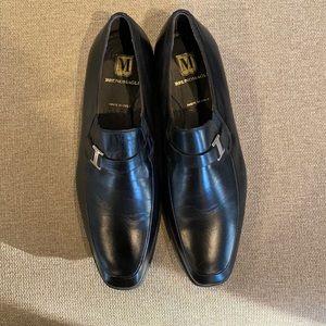 Bruno Magli Pivetto Leather Dress Loafer